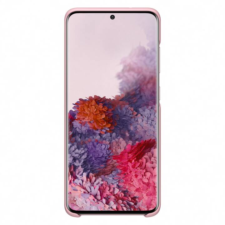 SAMSUNG Backcover H-Cover LED (Galaxy S20, Pink)