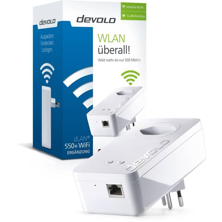 DEVOLO dLAN 550+ WiFiErweiterung (300 Mbit/s)