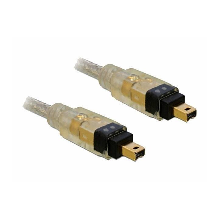 DELOCK Firewire-Kabel (4 Pin, FireWire, 4-polig, 2 m)