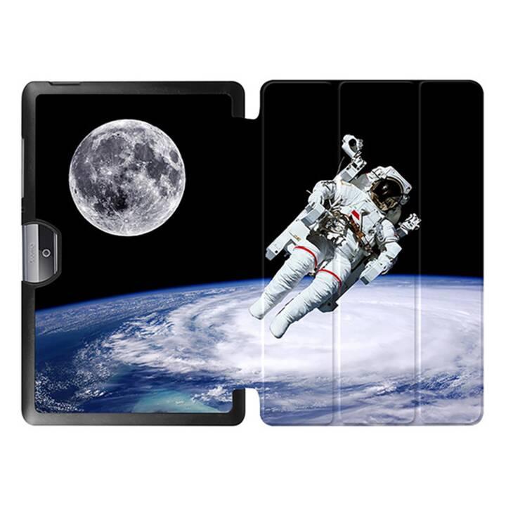 "EG MTT Tablet bag con coperchio pieghevole per Acer Iconia Tab 10 10.1"" - Astronauta"