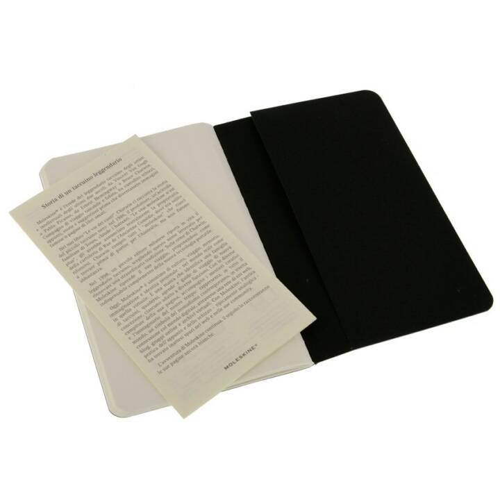 MOLESKINE QP313 64Blätter Schwarz Notizbuch