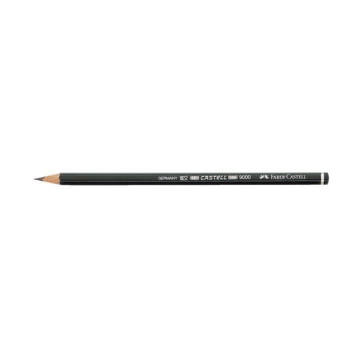 FABER-CASTELL Bleistift CASTELL 9000 2B