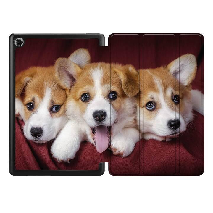 "EG MTT Coque pour HUAWEI MediaPad M5 Lite 10.1"" 2018 - chiens"