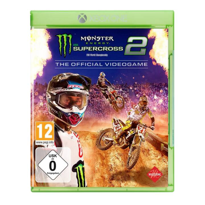Monster Energy Supercross 2: The Official Videogame (DE/FR/IT/E)