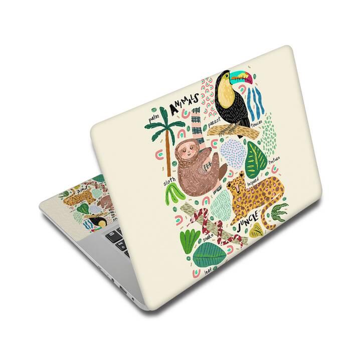 "EG adesivo per Laptop 15"" - Animali"