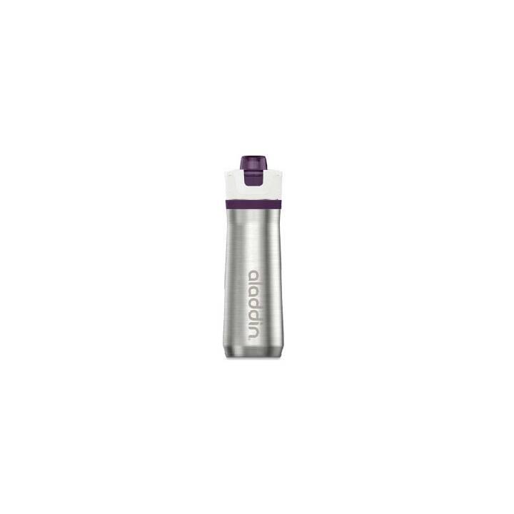 ALADDIN Sportflasche Active Hydration (0.6 l, Violett, Edelstahl)