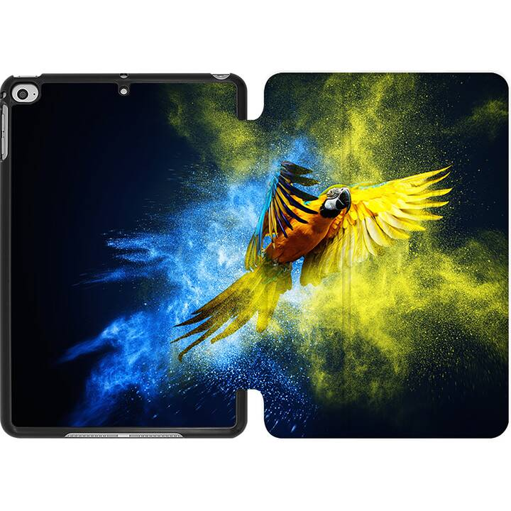 EG MTT Coque pour iPad Mini 4 (2015) et Mini 5 (2019) - Perroquet