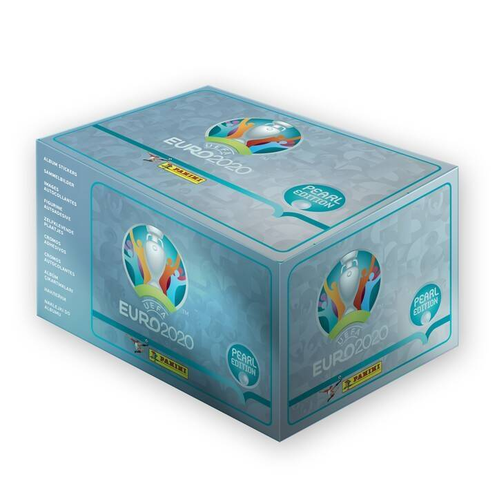 2x The UEFA EURO 2020™ Pearl Edition official Stickerbox