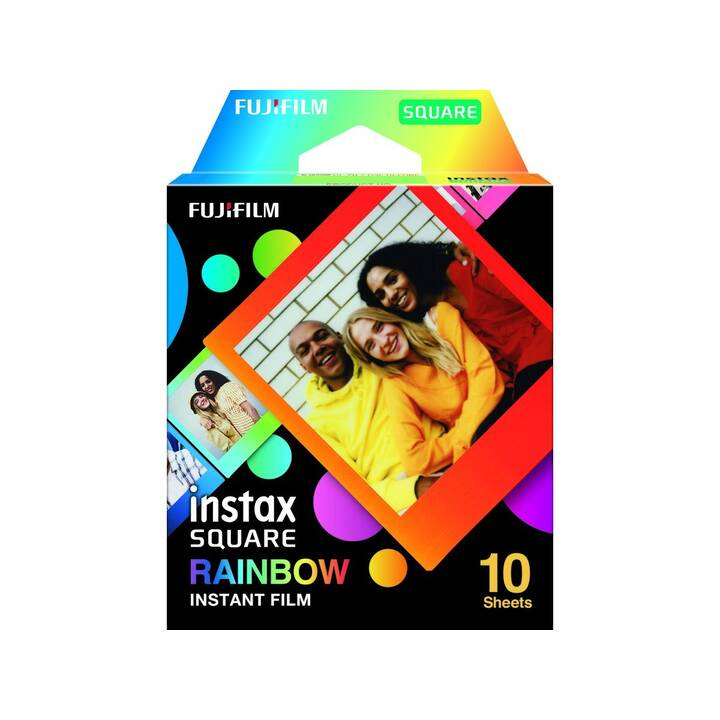 FUJIFILM Pellicule instantané (Instax Square, Multicolore)