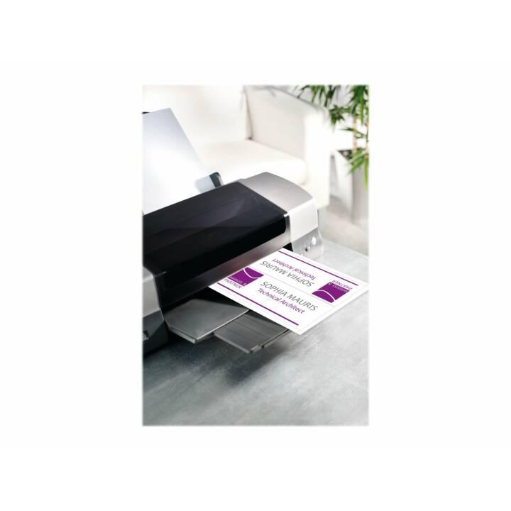 SIGEL Tischkarten 100 x 60 mm Weiss - 40 Stück