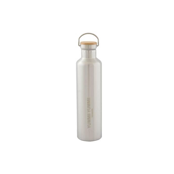 YUMMII YUMMII Thermo Trinkflasche (1000 ml, Silber)