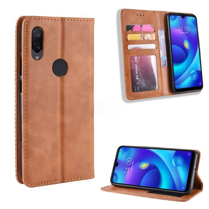 EG Mornrise Wallet Case für Xiaomi Redmi K20 Pro - Braun