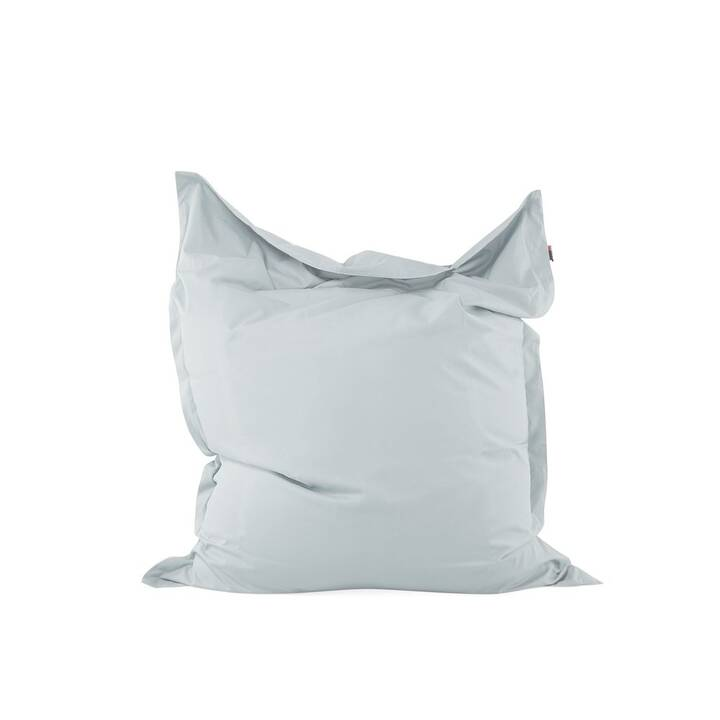 BELIANI Sitzsack Bean Bag Big (140 x 180 cm, Hellgrau)