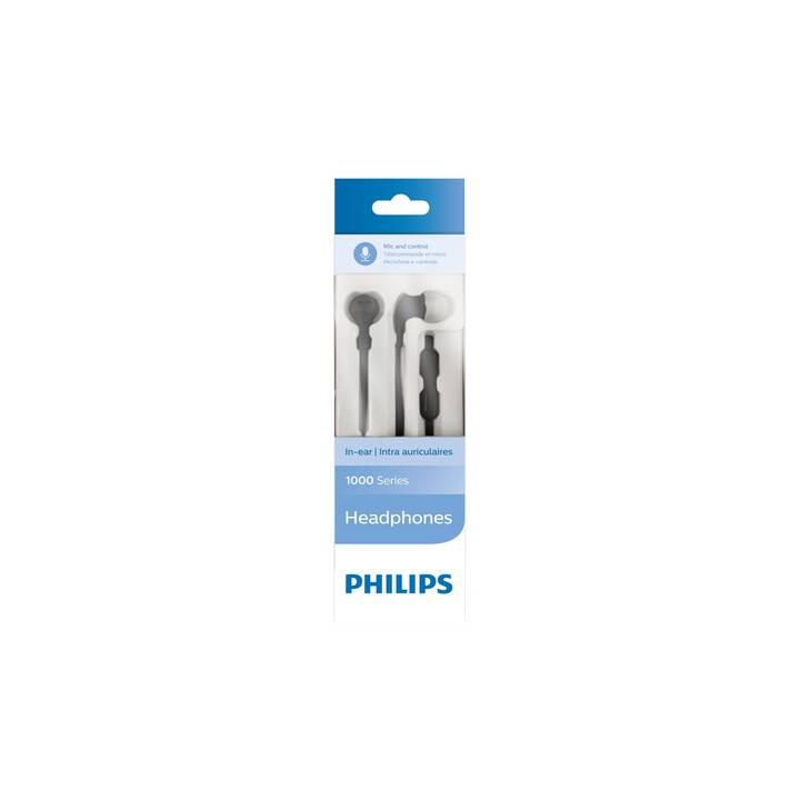 PHILIPS TAE1105BK (In-Ear, Noir)