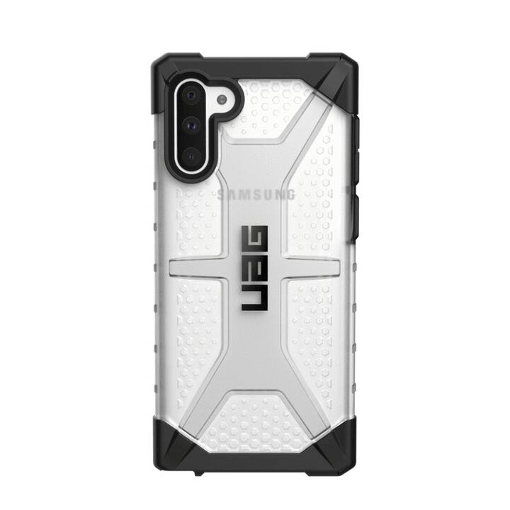 URBAN ARMOR GEAR Backcover Plasma Ice (Galaxy Note 10, Transparente, Nero)