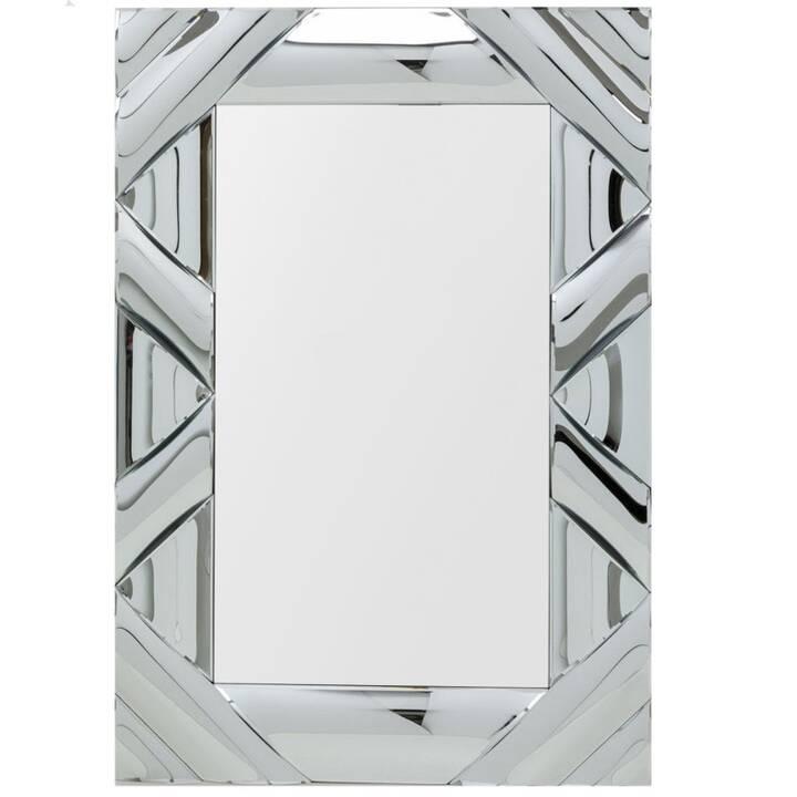 KARE Zick Zack Curved Specchi da parete (120 cm x 80 cm)