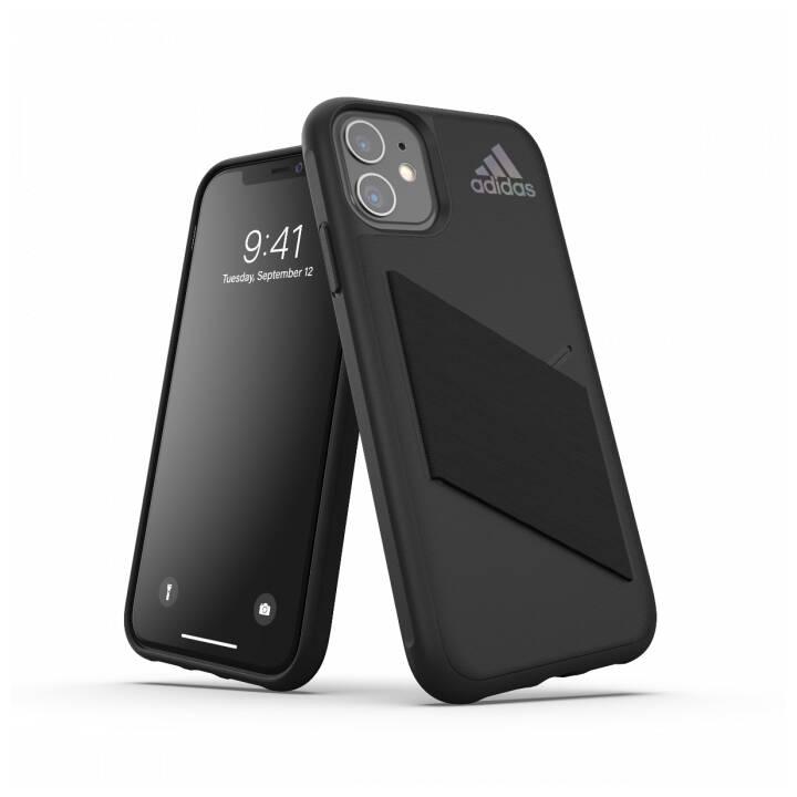 ADIDAS Backcover Protective Pocket (iPhone 11, Nero)