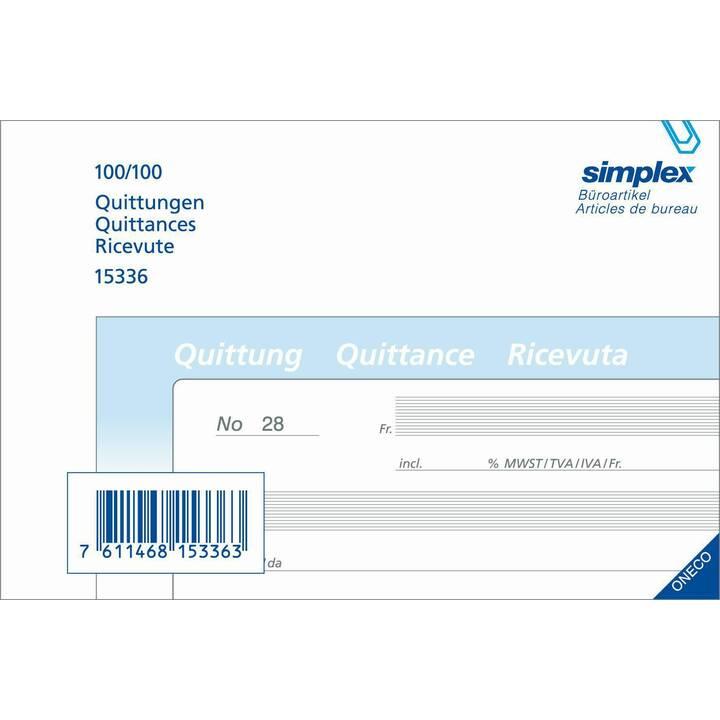 SIMPLEX Acquit (A6)
