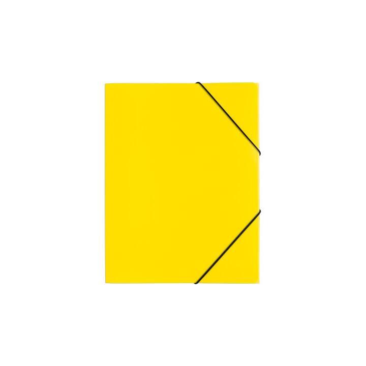 PAGNA chemise à élastique A4 jaune