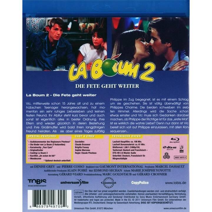 La boum 2 - Die Fete geht weiter (DE, FR)
