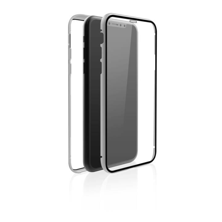 BLACK ROCK Hardcase 360 (6.1 inch, Silber, Transparent)