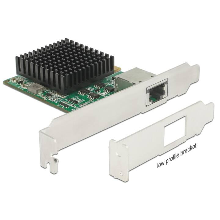 DELOCK Netzwerkadapterkarte (PCI Express 3.0, RJ-45 LAN)