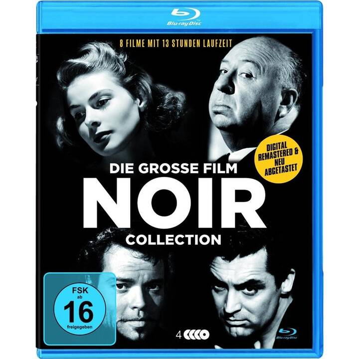 Die grosse Film Noir Deluxe-Collection (DE, EN)