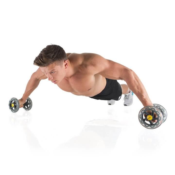 HAMMER Rotolo di muscoli addominali Core Wheels