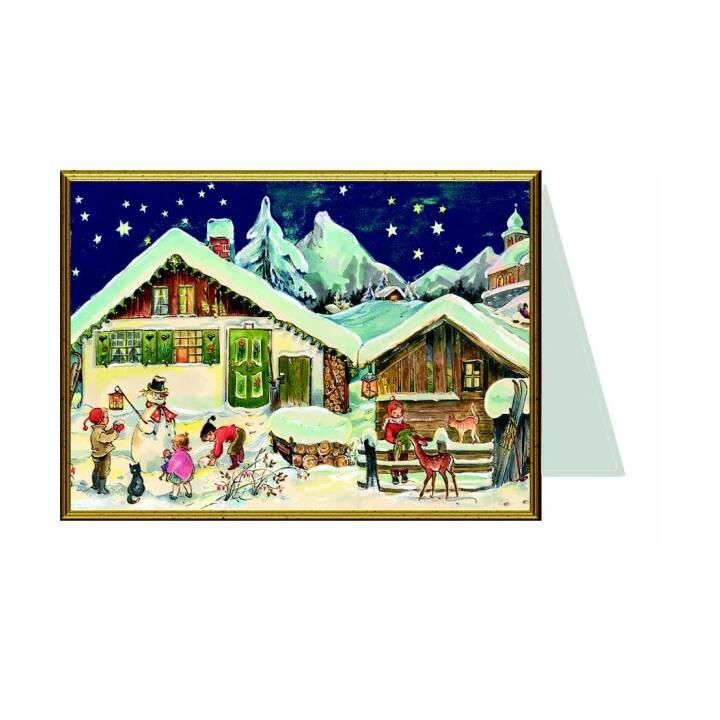 SELLMER Motivkarte (Weihnachten / Advent, Mehrfarbig)