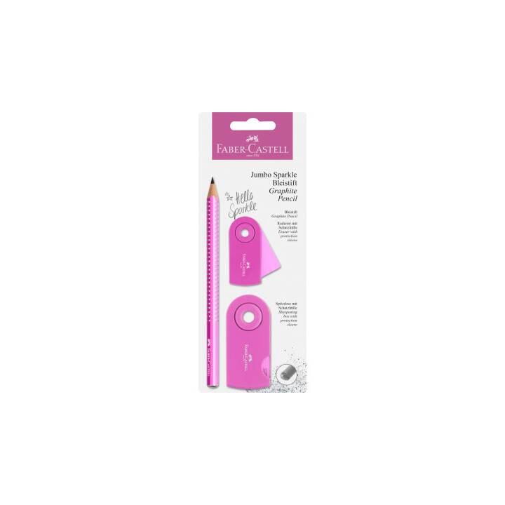 FABER-CASTELL Crayon Jumbo Sparkle (B)