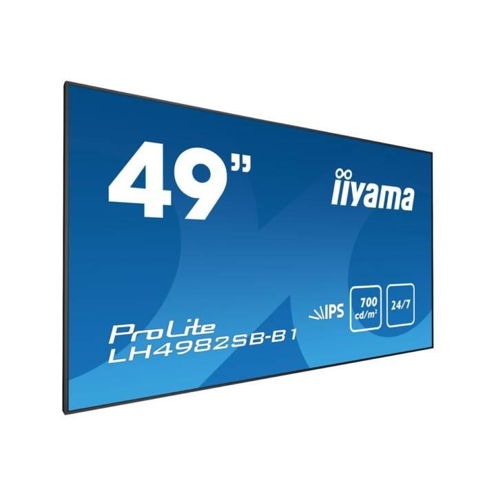 """IIYAMA LH4982SB-B1, 49"""""""