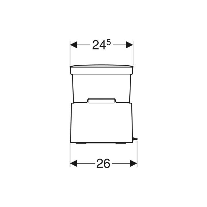 GEBERIT Dusch-WC AquaClean Cama