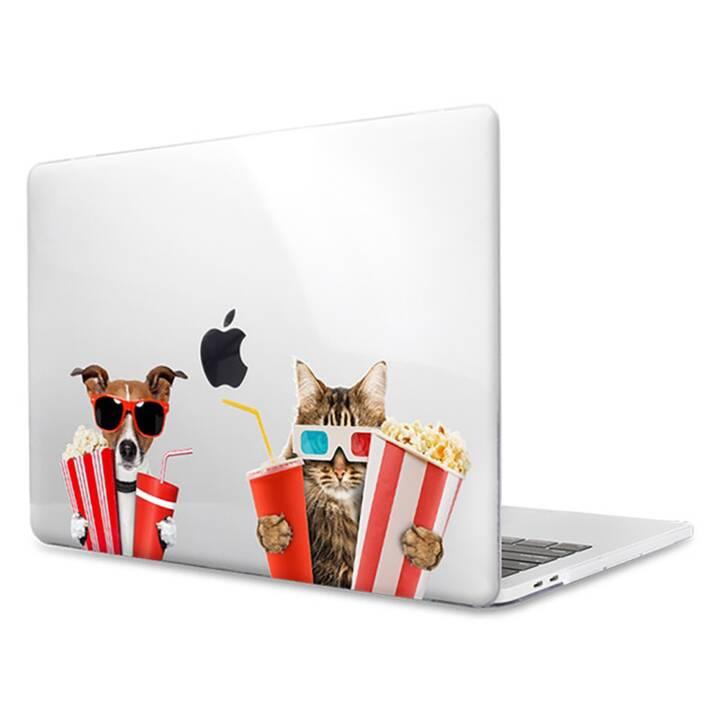 """EG MTT Laptop Cover für Macbook Pro 15"""" Touch Bar - Lustiges Tier"""