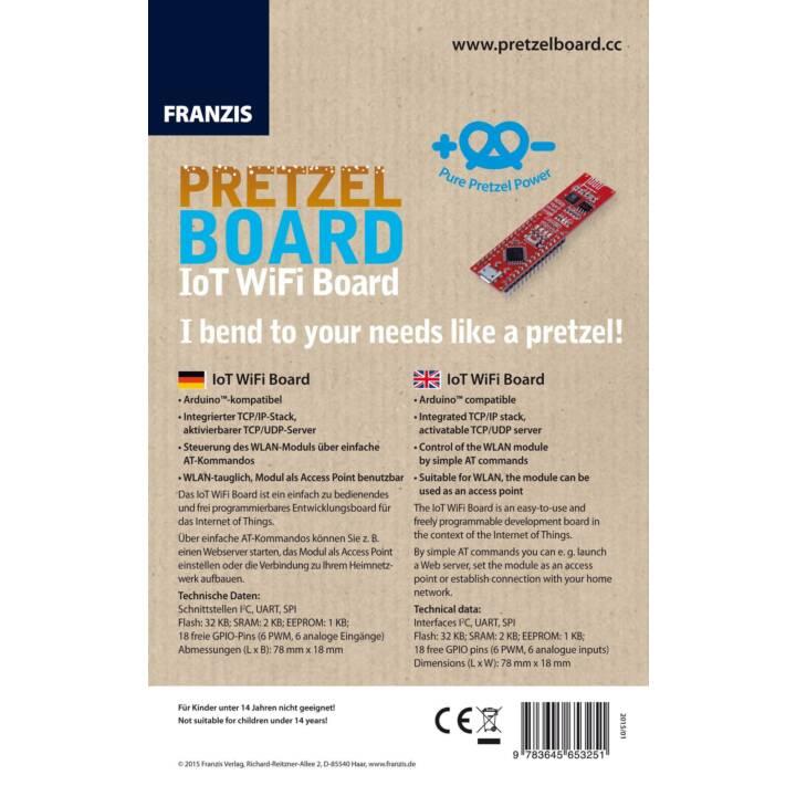 FRANZIS' VERLAG Pretzel IoT Scheda di sviluppo (AVR 8-Bit)