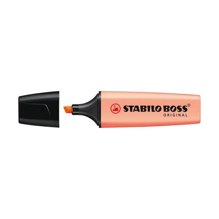 STABILO Boss Textmarker, 5 mm, Pfirsich
