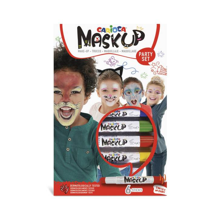 CARIOCA Mask Up Party Maquillage et coiffeur
