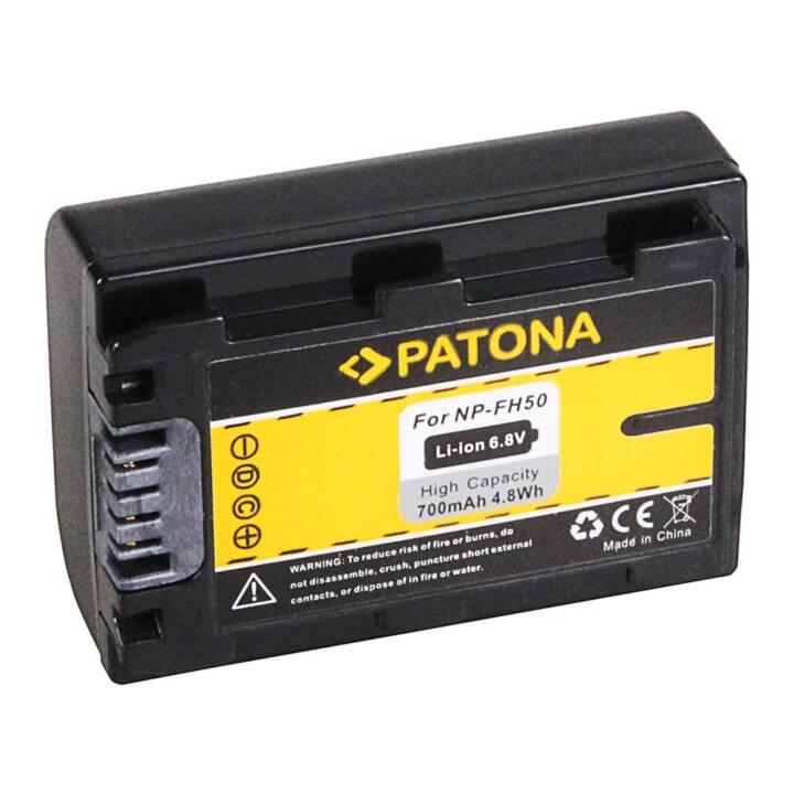 PATONA Akku für Sony NP-FH50