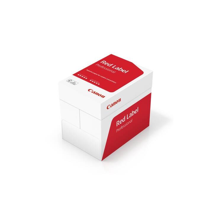 CANON Red Label Carta per copia (A4, 500 foglio, FSC)
