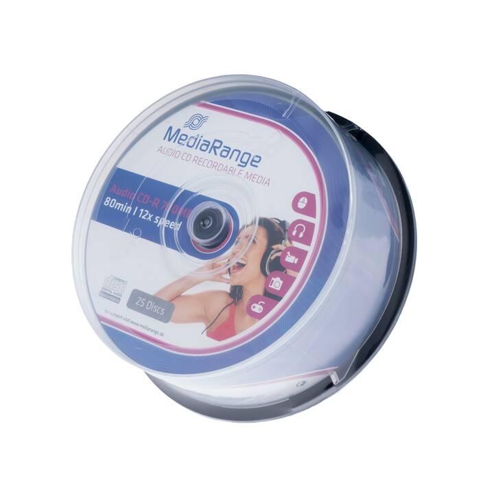 MEDIARANGE CD-R MR223  (80 GB, 700 MB)