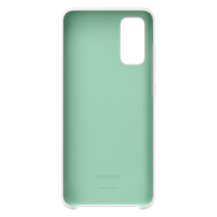 SAMSUNG Backcover Hard Cover (Galaxy S20, Bianco)