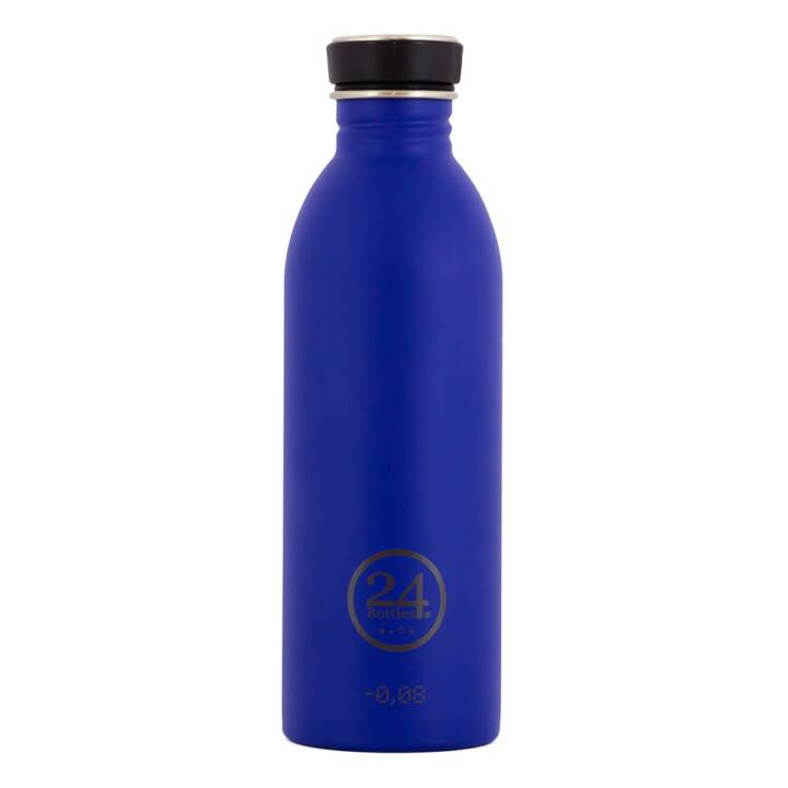 24BOTTLES Trinkflasche Urban Gold Blue (Blau, 0.5 l)
