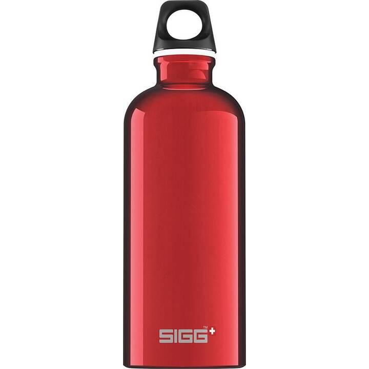 SIGG Borraccia Traveller Red (0.6 l, Rosso)