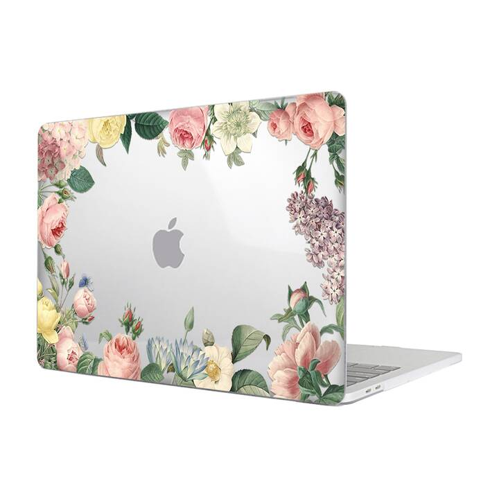 "EG MTT Housse pour Macbook Air 13"" (2018) - Fleurs"