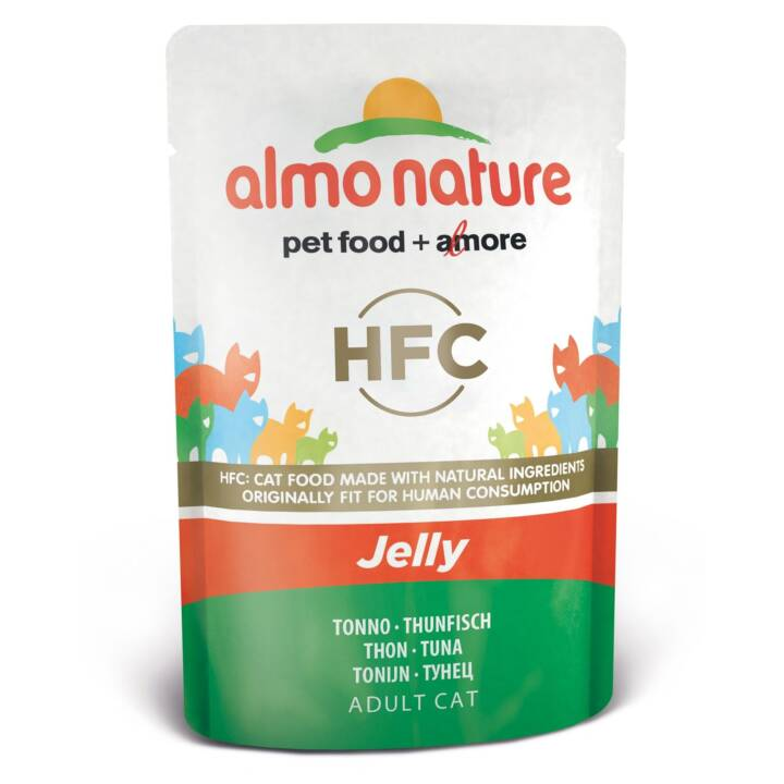 ALMO NATURE HFC Jelly (Adulto, 55 g, Tonno)