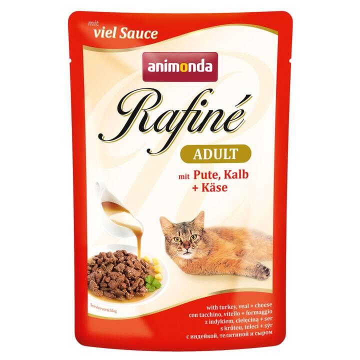 ANIMONDA Rafiné (Adulte, 100 g, Dindon, Veau, Fromage)