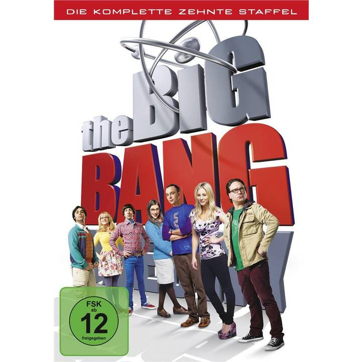 The Big Bang Theory Saison 10 (IT, DE, EN, CS)