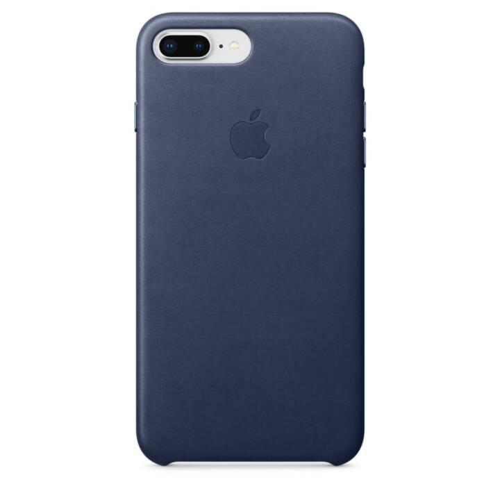 APPLE iPhone 8 Plus / 7 Plus étui en cuir Bleu nuit
