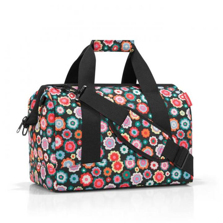 REISENTHEL Allrounder Happy Flowers Shopper (M, Polyester)