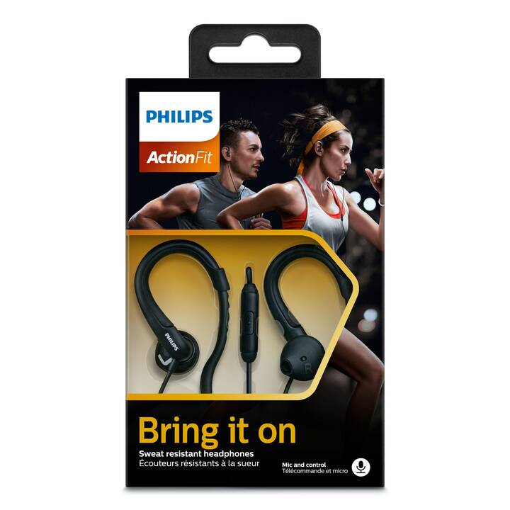 PHILIPS ActionFit (In-Ear, Nero)