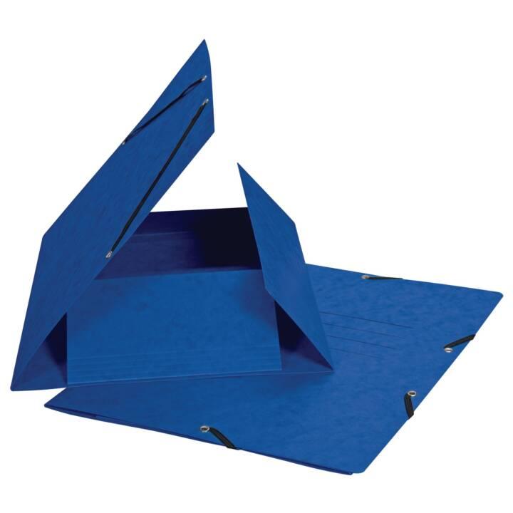 BIELLA Gummibandmappe A4 Blau